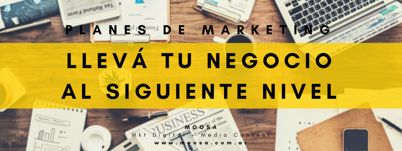 PLANES DE MARKETING DIGITAL MOOSA MKT DIGITAL